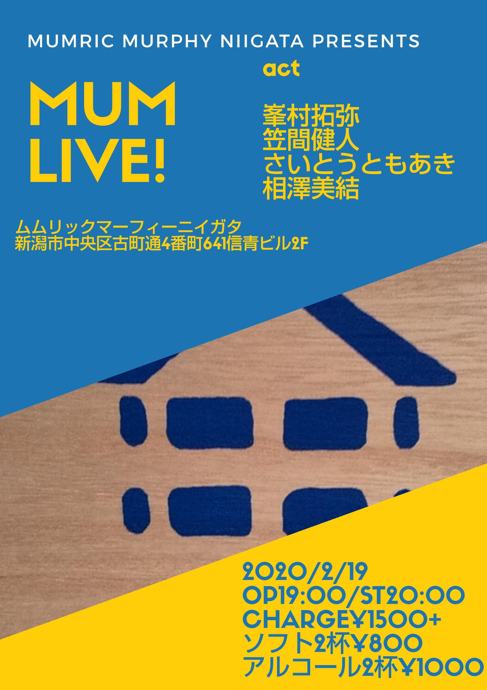 MUM Live!